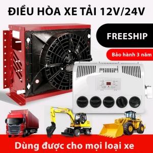 Máy Lạnh Điều Hoà Chạy Điện Ác Quy 12V, 24V