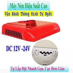 Máy Lạnh Điều Hoà Chạy Điện Ác Quy 12V -24V Âm Trần